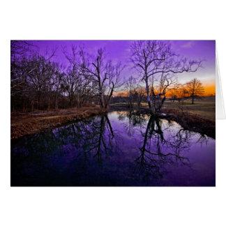 Sonnenaufgang im Seneca-Park Karte