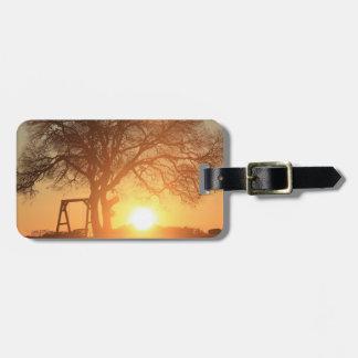 Sonnenaufgang im Texas-Hügel-Land, Gepäckanhänger