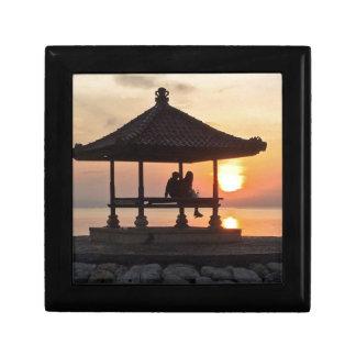 Sonnenaufgang in Bali Erinnerungskiste