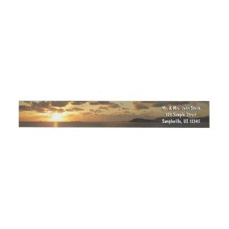 Sonnenaufgang in den Jungferninseln St Thomas I US