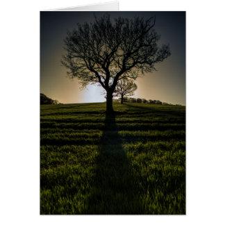 Sonnenaufgang in Linton (Cambridgeshire) 2015 Karte
