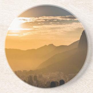 Sonnenaufgang in Rio de Janeiro Getränkeuntersetzer