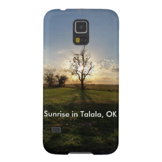 Sonnenaufgang in Talala, OKAYHandy-Fall Samsung Galaxy S5 Cover