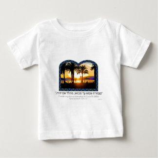 Sonnenaufgang in Tiberias Baby T-shirt