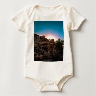 Sonnenaufgang-Joshua-Baum-Nationalpark Baby Strampler