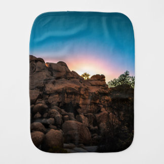Sonnenaufgang-Joshua-Baum-Nationalpark Spucktuch