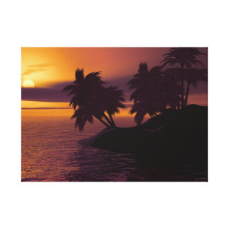 Sonnenaufgang-Leinwand Leinwanddruck