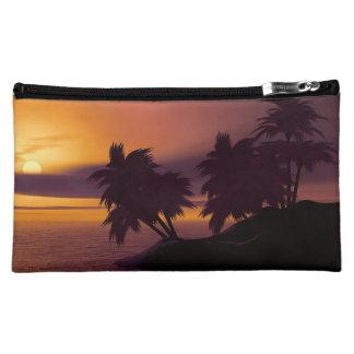 Sonnenaufgang-mittlere kosmetische Tasche