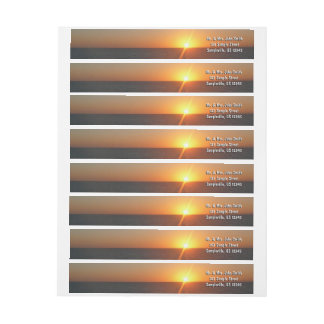 Sonnenaufgang Ozean-Horizont-Meerblick am Meeriii