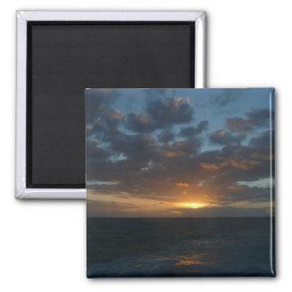 Sonnenaufgang Ozean-Meerblick-Fotografie an der Quadratischer Magnet