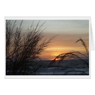 Sonnenaufgang, Ozean-Stadt MD. Karte