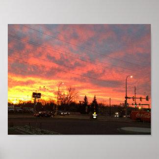 Sonnenaufgang Poster