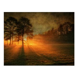Sonnenaufgang Postkarte