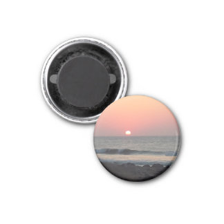 Sonnenaufgang Runder Magnet 3,2 Cm