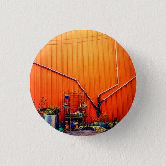 Sonnenaufgang Sans Fran Runder Button 3,2 Cm