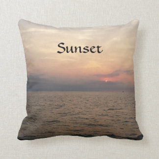 Sonnenaufgang-/Sonnenuntergang-Akzent-Kissen Kissen