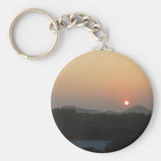 Sonnenaufgang-Sonnenuntergang Schlüsselanhänger