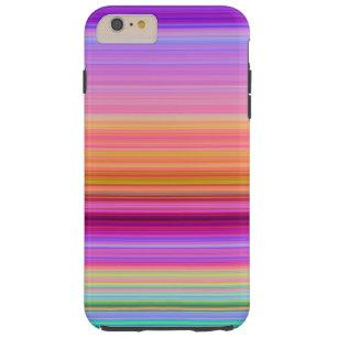 Sonnenaufgang-Streifen Tough iPhone 6 Plus Hülle