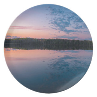 Sonnenaufgang Teller