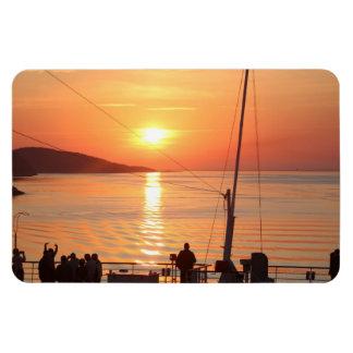 Sonnenaufgang über dem Ozean, Kanada Magnet