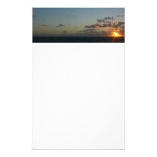 Sonnenaufgang über Meerblick San Juan I Puerto Briefpapier