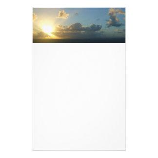 Sonnenaufgang über San Juan II Puerto Rico Briefpapier