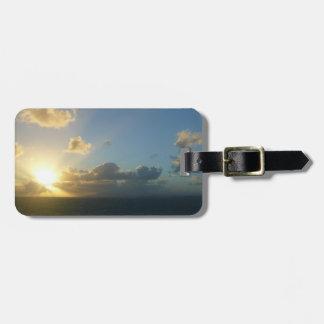 Sonnenaufgang über San Juan II Puerto Rico Gepäckanhänger