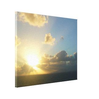 Sonnenaufgang über San Juan II Puerto Rico Leinwanddruck