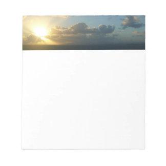 Sonnenaufgang über San Juan II Puerto Rico Notizblock