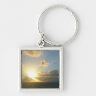 Sonnenaufgang über San Juan II Puerto Rico Schlüsselanhänger