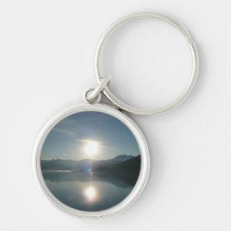 Sonnenaufgang über Uni-Fjord-Alaska-Fotografie Schlüsselanhänger