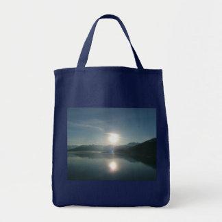 Sonnenaufgang über Uni-Fjord-Alaska-Fotografie Tragetasche