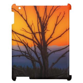 Sonnenaufgang über Yellowstone Nationalpark iPad Hülle