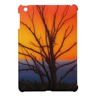 Sonnenaufgang über Yellowstone Nationalpark iPad Mini Hülle