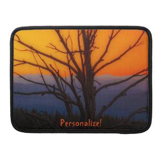 Sonnenaufgang über Yellowstone Nationalpark Sleeve Für MacBook Pro