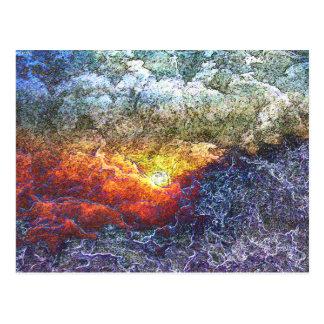 Sonnenaufgang von Art Postkarte