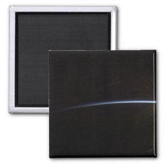Sonnenaufgang, wie im Raum angesehen Quadratischer Magnet