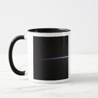 Sonnenaufgang, wie im Raum angesehen Tasse