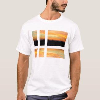 Sonnenaufganggitter T-Shirt