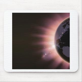 Sonnenaufgangkonzepthintergrund Mousepad