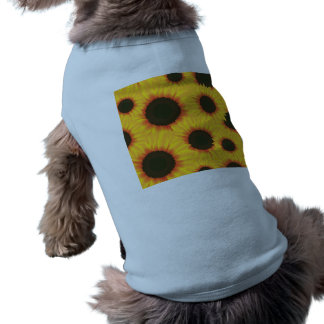 Sonnenblume Ärmelfreies Hunde-Shirt
