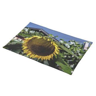 Sonnenblume Auf dem Tisch Stofftischset