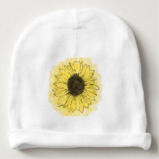 Sonnenblume-Baby Beanie Babymütze