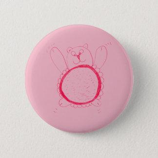Sonnenblume-Bärn-rundes Abzeichen Runder Button 5,7 Cm