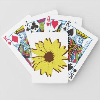 Sonnenblume Bicycle Spielkarten