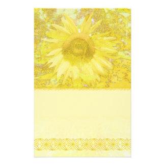 Sonnenblume blenden Briefpapier