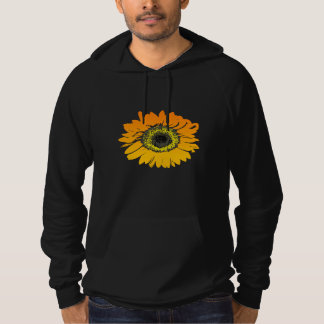 Sonnenblume-Blumen-Kunst-Entwurf Hoodie