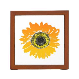 Sonnenblume-Blumen-Kunst-Entwurf Stifthalter
