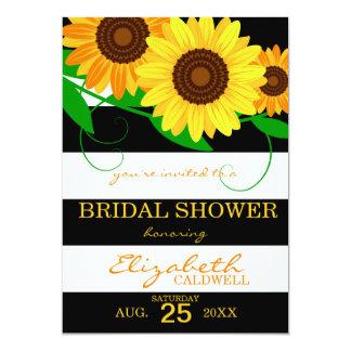 Sonnenblume-Brautparty-Einladung 12,7 X 17,8 Cm Einladungskarte