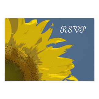 Sonnenblume-Druck-Hochzeit UAWG Wartekarte 8,9 X 12,7 Cm Einladungskarte